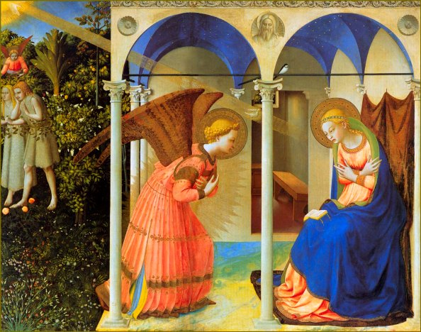 the-annunciation Fra angelico