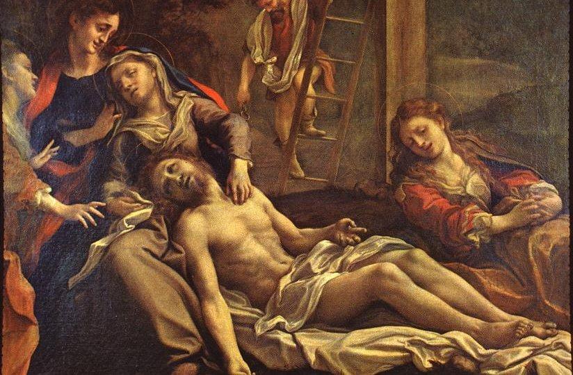 Antonio Allegri detto il Correggio - Compianto sul Cristo Morto